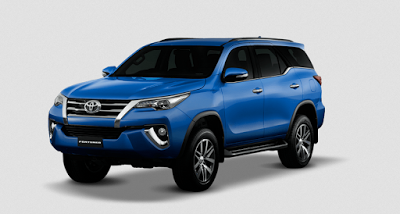 all new Toyota Fortuner terbaru 2016