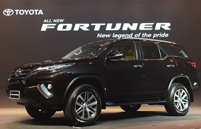 Harga All New Toyota Fortuner 2016