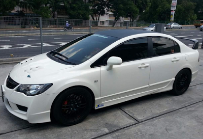 modifikasi Honda civic FD2