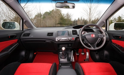 modifikasi interior honda civic FD2