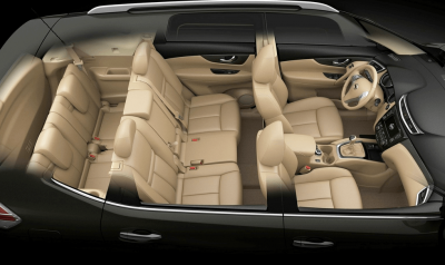 Interior All New Nissan X-Trail