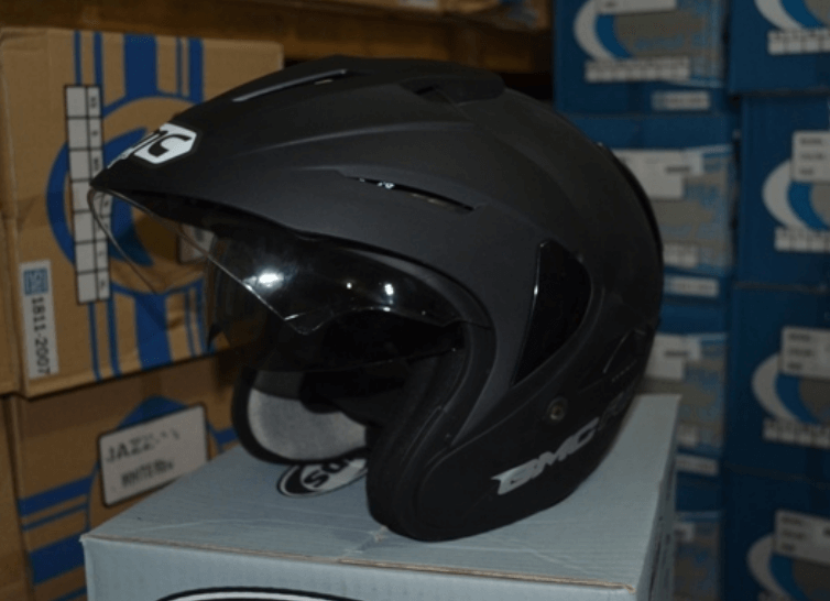 helm bmc half face