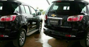 Chevrolet Trailblazer facelift