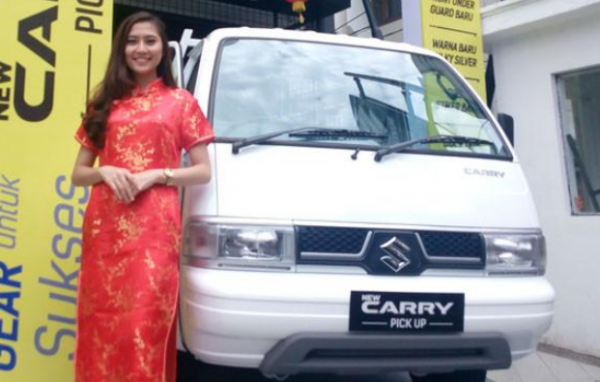 Tampilan Suzuki New Carry Pick Up
